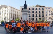 Thumbnail Groupe d'étudiants ISC Spain visitant les lieux touristiques de Madrid