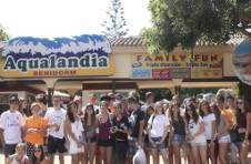 Thumbnail Les étudiants de l'ISC dans le parc d'attraction Aqualandia