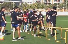 Thumbnail exercices et échauffement à l'ISC Spain, stage athlétisme