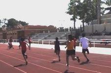 Thumbnail entraînement sur les piste d'athlétisme de l'ISC Spain