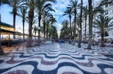 Thumbnail paseo de la Explanada, un des emblèmes d'Alicante.