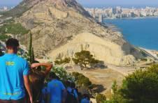 Thumbnail les campeurs de l'ISC Spain, découvrant une des merveilles d'Alicante