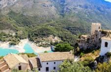 Thumbnail paysage et marais de Guadalest.
