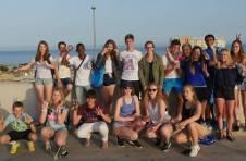 Thumbnail visite de Guadalest par les campeurs de l'ISC Spain.