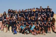 Thumbnail les campeurs de l'ISC Spain visitant le château de Santa Barbara