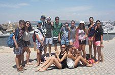 Thumbnail nos étudiants internationaux lors de leur arrivée sur l'île de Tarbaca.