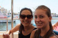 Thumbnail les campeurs de l'ISC Spain visitant l'île de Tarbarca
