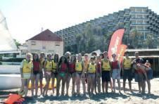 Thumbnail les étudiants internationaux de l'ISC, sur une plage espagnole