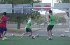 Thumbnail match de football entre les étudiants de l'ISC Spain.