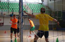 Thumbnail entraînement de hand-ball en Espagne avec des étudiants internationaux