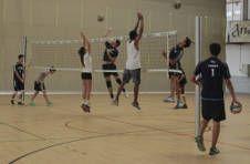 Thumbnail entraînement de volley pour nos joueurs internationaux