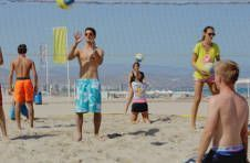 Thumbnail entraînement de beach volley en Espagne