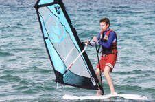 Thumbnail Nos étudiant internationaux de planche à voile à Alicante