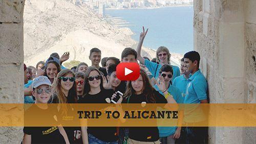 Vidéo : Voyage scolaire à Alicante