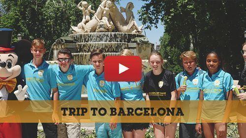 Vidéo : Voyage scolaire à Barcelone