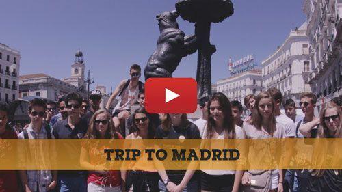 Vidéo: voyage scolaire à Madrid