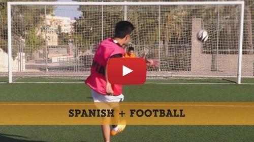 Video de notre formule Espagnol + Football
