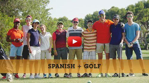 Video de notre formule Espagnol + Golf