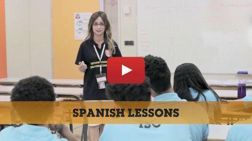 Vidéo des leçons d'Espagnol