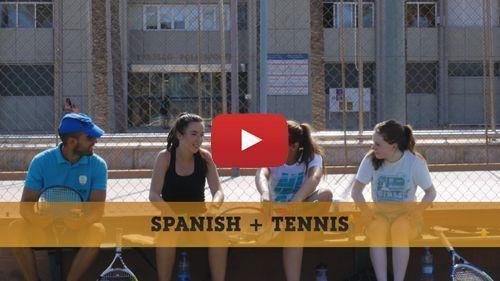 Vidéo de notre formule Espagnol + Tennis
