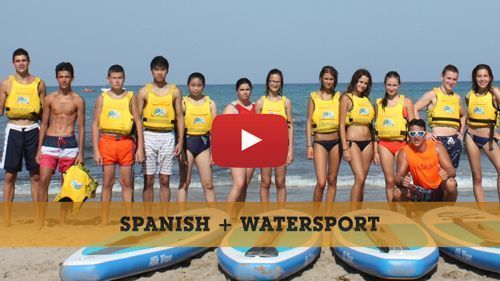 Vidéo de la formule Espagnol + activités nautiques